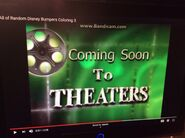 Disney Coming Soon to Theaters Bumper 6 (2006)