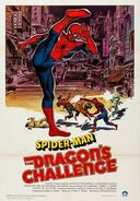 Poster of Spider-Man- The Dragon's Challenge