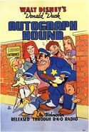 The Autograph Hound 1939 Poster