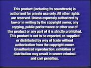 Disney Navy Blue Warning (VHS from 2003-2005)