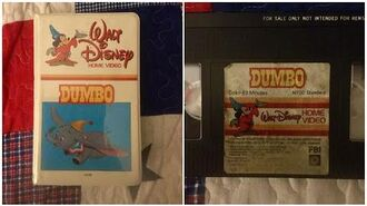 Opening & Closing to Dumbo 1982 VHS True HQ