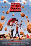 Cloudy with a chance of meatballs theataposter