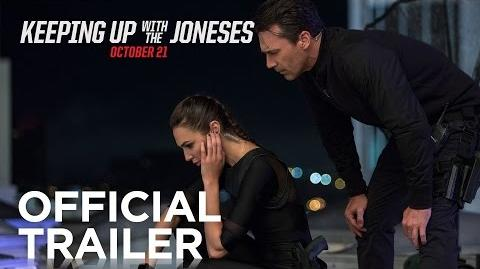Keeping Up With the Joneses Official Trailer HD 20th Century FOX-0