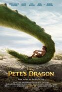 Petes dragon 2016 film poster