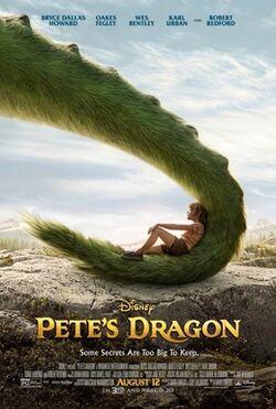 Petes dragon 2016 film poster
