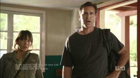 """Burn Notice The Fall of Sam Axe"" - Trailer"