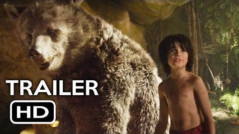 The Jungle Book Official Trailer 2 (2016) Scarlett Johansson Live-Action Disney Movie HD