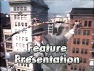 Feature Presentation bumper (Inspector Gadget variant)