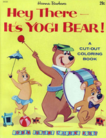 Hey There, It's Yogi Bear! (Offical Coloring Book)