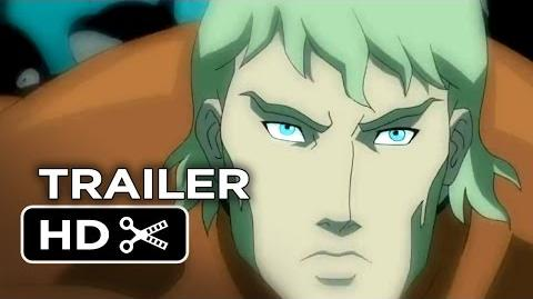 Justice League Throne of Atlantis Official Trailer 1 (2014) - DC Comics Animation Movie HD