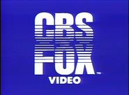 CBS Fox Video 1983