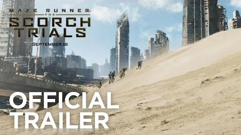 Maze Runner The Scorch Trials Official Trailer HD 20th Century FOX