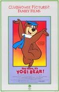 Clubhouse Pictures - Hey There, It's Yogi Bear! (1964) Re-release poster
