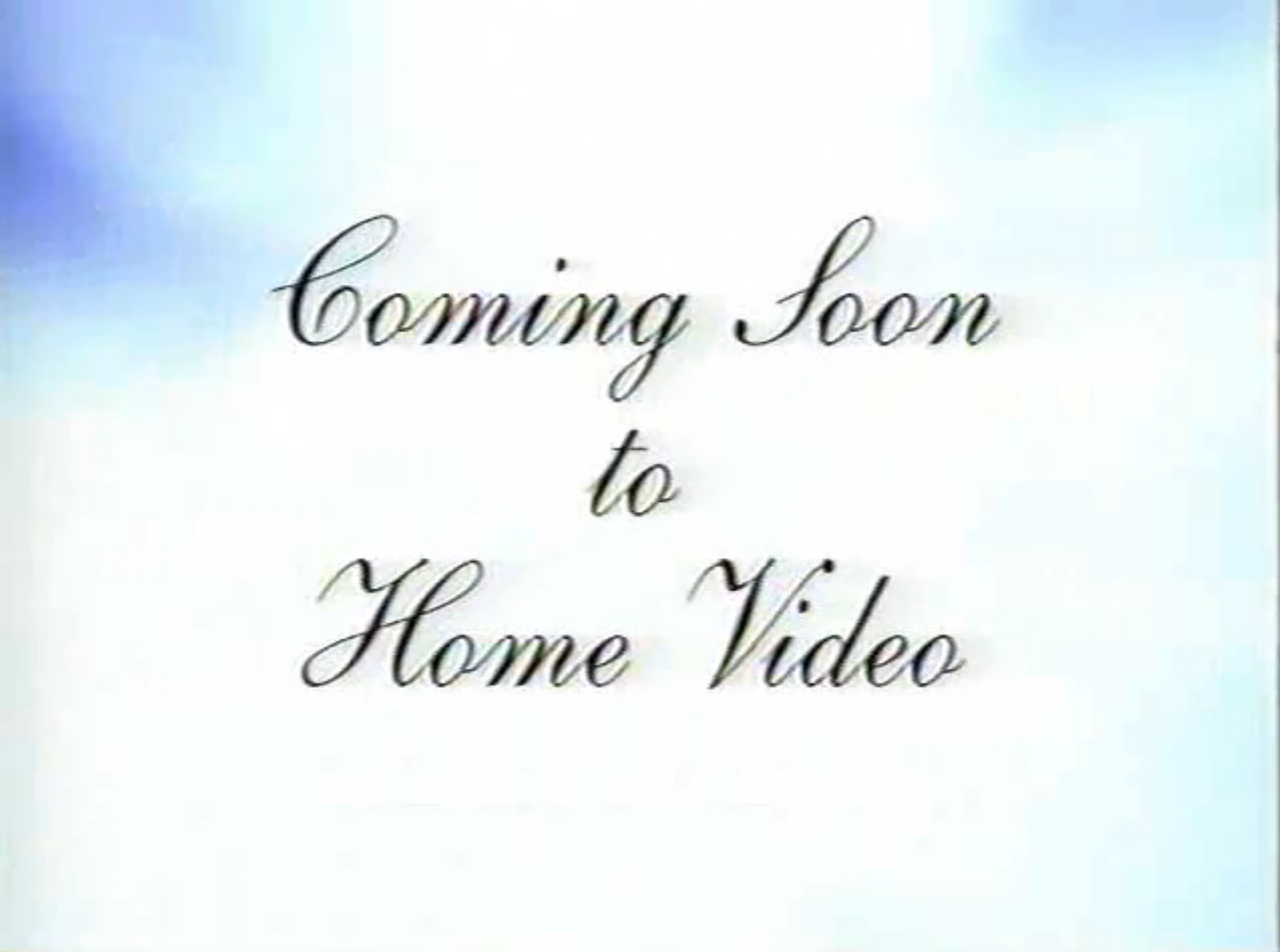 Coming Soon to Home Video 3