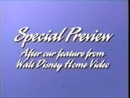 Special Preview - After our feature from Walt Disney Home Video