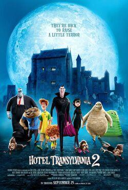 Hotel-Transylvania-2-Promo One-Sheet Poster 001