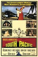 South Pacific 1958 Poster