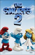 Smurfs 2 Movie Poster 2012