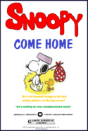 Snoopy Come Home AD