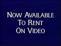 Now available to rent on video