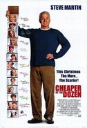 Cheaper by the Dozen 2003 film poster