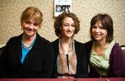 Betsy Baker, Ellen Sandweiss, and Theresa Tilly