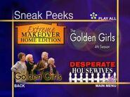 Disney Sneak Peeks (The Golden Girls- The Complete Third Season variant)