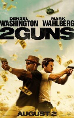 Two guns poster