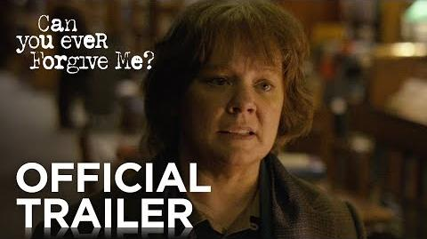 CAN YOU EVER FORGIVE ME? Official Trailer HD FOX Searchlight