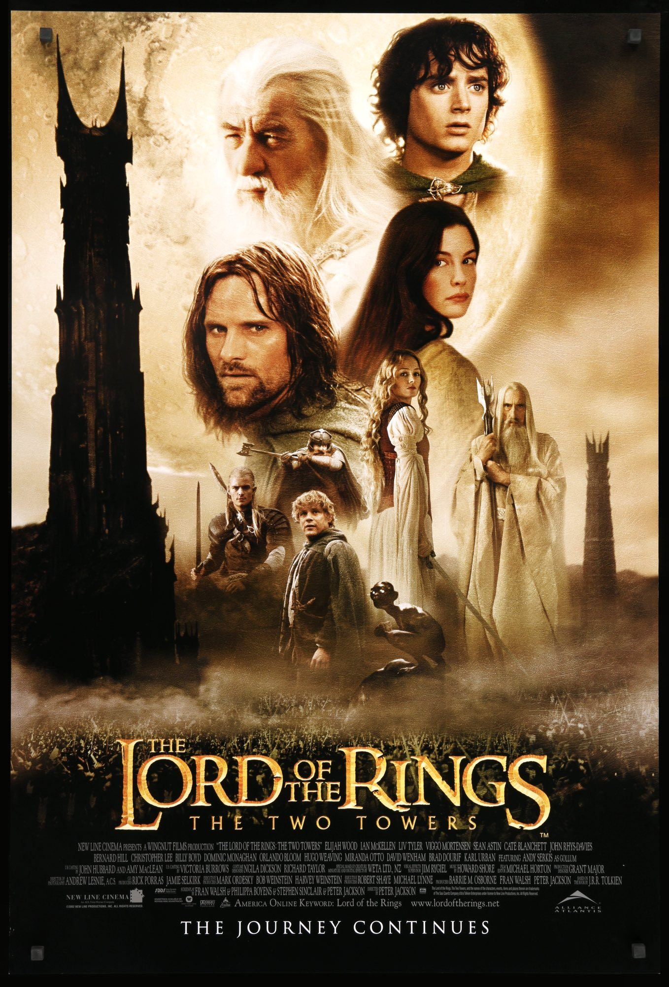 The Lord of the Rings: The Two Towers | Moviepedia | Fandom