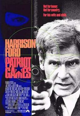 Patriot Games theatrical poster