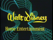 Walt Disney Home Entertainment 1978-1984 logo