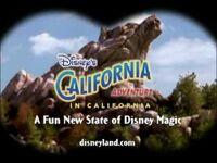 Disney's California Adventure commercial