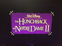 Video trailer The Hunchback of Notre Dame II