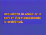 Disney 1989 Canadian Warning Screen 2