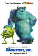 Monsters Inc 2001