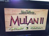 Video trailer Mulan II