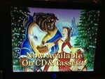 Now Available On CD & Cassette (Beauty and the Beast- The Enchanted Christmas variant)