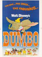 1972 dumbo poster