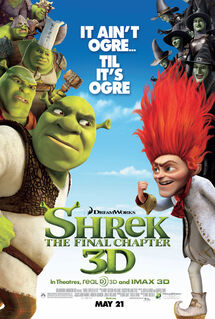Shrek Forever After 2010 movie poster