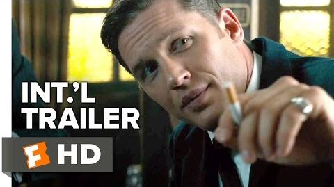 Legend Official International Trailer 1 (2015) - Tom Hardy, Emily Browning Movie HD
