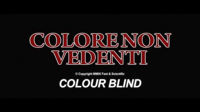 Colore Non Vedenti