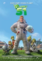 Planet 51 poster - Edited