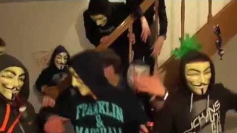 Anonymous Harlem shake