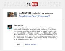 Shoenice the racist