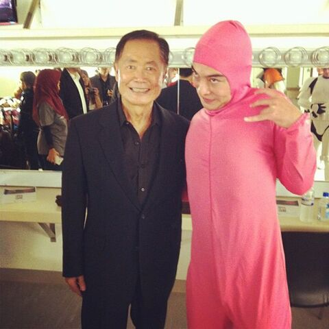 <center>Pink Guy and Jackie Chan <small>(Dec 5, 2014)</small></center>
