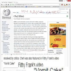 Frank's video was mentioned on it's Wikipedia page.