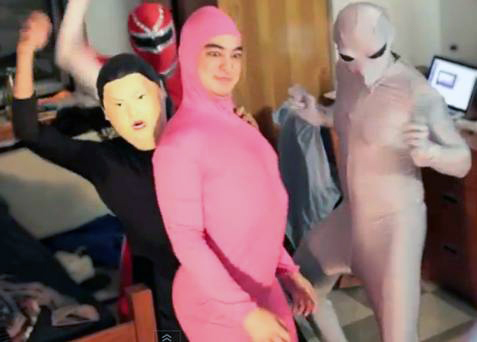pink guy x getter