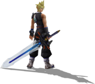 Cloud - Paine's Warrior Render