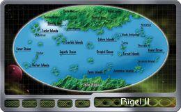 Rigel II map